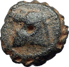DEMETRIOS I Soter RARE R3 Ancient Seleukid Greek Coin HORSE ELEPHANT i75519