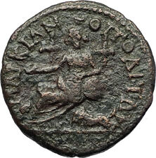SEPTIMIUS SEVERUS 193AD Marcianopolis Authentic Ancient Roman Coin CYBELE i71244