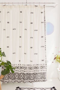 urban outfitters shower curtains for