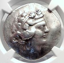 Celtic Celts Danube Silver Tetradrachm Greek Style Coin like THASOS NGC i72605
