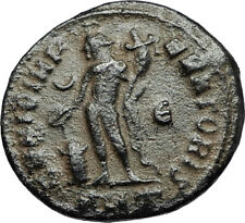 LICINIUS I Authentic Ancient Original 308AD Antioch Roman Coin GENIUS i67640
