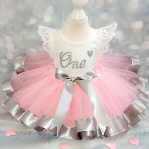 1st Birthday Princess In Girls Outfits Sets 0 24 Months For Sale Ebay