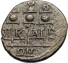 SEVERUS ALEXANDER Authentic Ancient Nicaea Bithynia Roman Coin STANDARDS i71101