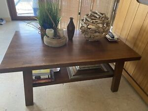 crate and barrel coffee tables for sale