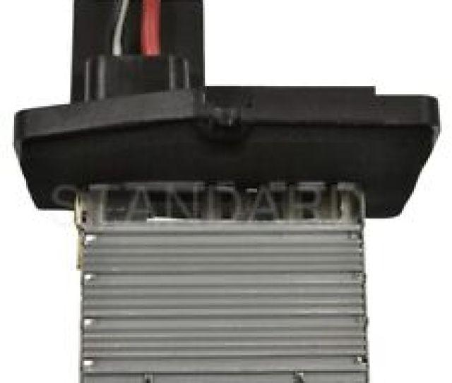 Hvac Blower Motor Resistor Front Standard Ru 50
