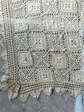rideau crochet ancien en vente ebay
