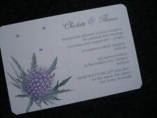 Scottish Wedding Invitations For