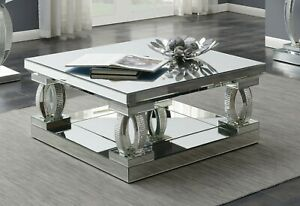 mirror coffee tables for sale in