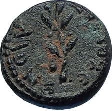 ANTIOCH Seleukis Roman Emperor NERO Time 66AD Ancient Greek Coin w APOLLO i68000