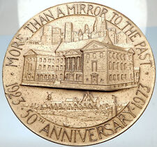1973 HUGE 6.9cm 207.7 Gram MUSEUM of the CITY of NEW YORK 50th MEDAL i67077