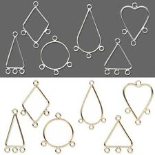 Lot Of 10 Chandelier Component Findings W Closed Loops For Earrings Pendants