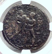 PHILIP I the ARAB Ancient Tarsus Roman Coin HERCULES Wrestles ANTEUS NGC i72668