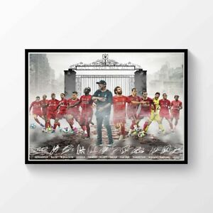 liverpool fc poster products for sale