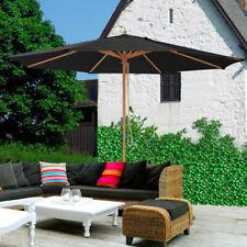 black garden patio umbrellas for sale