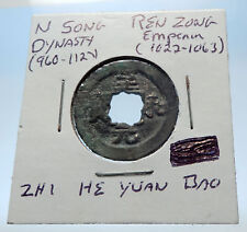 1022AD CHINESE Northern Song Dynasty Antique REN ZONG Cash Coin of CHINA i72716
