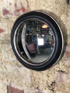 miroirs noirs rondes pour la decoration