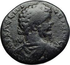 SEPTIMIUS SEVERUS 193AD Marcianopolis Ancient Roman Coin APOLLO & SERPENT i70655
