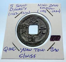 1195AD CHINESE Southern Song Dynasty Genuine NING ZONG Cash Coin of CHINA i72559