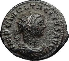 TACITUS Authentic Ancient 275AD Original Genuine Roman Coin w JUPITER i67057