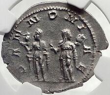 TRAJAN DECIUS Authentic Ancient Silver Roman 250AD Rome Coin PANNONIA NGC i70156