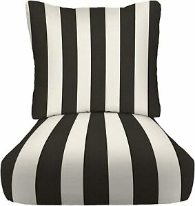 garden furniture deep seat cushions