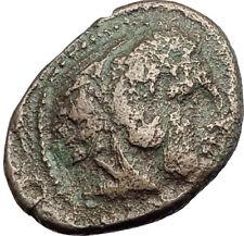 ALEXANDER III the GREAT 336BC Macedonia Ancient Greek Coin HERCULES CLUB i64622