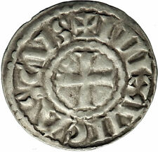 900-1050AD FRANCE Limoges Medieval Feudal French Silver Coin / ODO EUDES  i74585