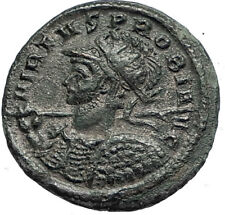 PROBUS Authentic Ancient Roman Genuine 281AD Coin w PROVIDENTIA Goddess i67110