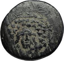 AMISOS in PONTUS 105BC Mithradates VI the Great GORGON NIKE Greek Coin i67403