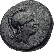 Pergamon Regal Coinage 282BC Athena & Thyrsos  Ancient Greek Coin  i73278