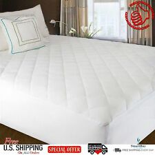 Mattress Cover Protector Topper Quilted Pad Ed Top Waterproof Bed Size