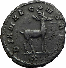 GALLIENUS Authentic Ancient 267AD Animal Series Genuine Roman Coin STAG i75581