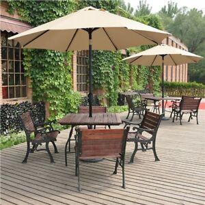 parasol handle in patio parasols for