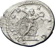 SEVERUS ALEXANDER 222AD Silver Authentic Ancient  Roman Coin Victory i69462