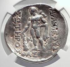 Celtic Celts Danube Silver Tetradrachm Greek Style Coin like THASOS NGC i72602