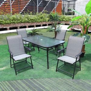 rectangle glass garden patio tables
