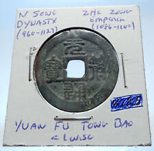 1086AD CHINESE Northern Song Dynasty Antique ZHE ZONG Cash Coin of CHINA i72502