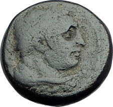 SARDES Lydia Genuine 133BC Authentic Ancient Greek Coin HERCULES & APOLLO i64545