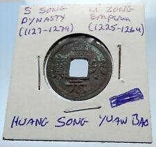 1225AD CHINESE Southern Song Dynasty Genuine LI ZONG Cash Coin of CHINA i71495