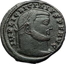 LICINIUS I Authentic Ancient Genuine 315AD Roman Coin w JUPITER & EAGLE i71138