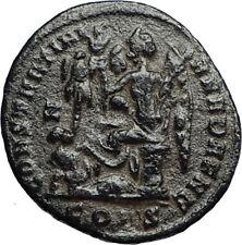 CONSTANTINE I the GREAT Victory vs LICINIUS I 327AD Ancient Roman Coin i67766