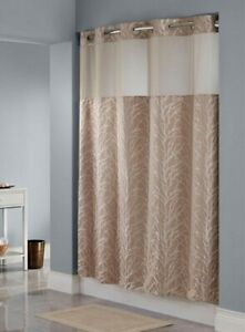 hookless brown shower curtains for sale