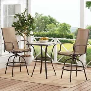 bar height patio table in patio