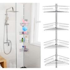Teleskopregal Dusche In Badezimmer Ablagen Schalen Korbe Gunstig Kaufen Ebay