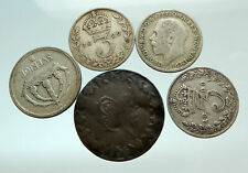 GROUP LOT of 5 Old SILVER Europe or Other WORLD Coins for your COLLECTION i75694