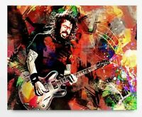 dave grohl drumming poster schlagzeug