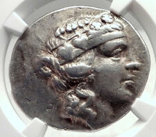 THASOS Thrace 148BC Authentic Ancient Silver Greek Tetradrachm Coin NGC i72615