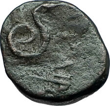 PERGAMON in MYSIA 281BC Philetairos Ancient Greek Coin ATHENA & SERPENT i67836