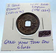 1195AD CHINESE Southern Song Dynasty Genuine NING ZONG Cash Coin of CHINA i72556