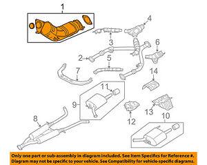 genuine oem catalytic converters for